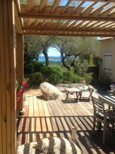 Photo for House with sea view for rent in Porto-Vecchio sleeps 5 to 6