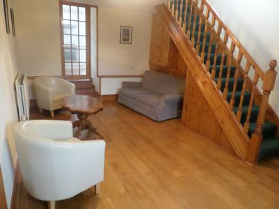 Photo for Hilltop Cottage, Anglesey, near beaches, free baby equipment and wifi!