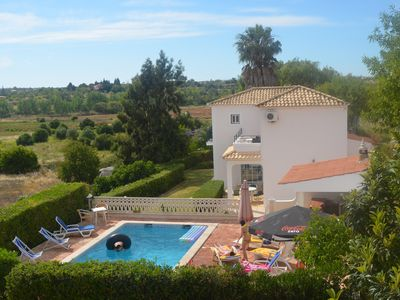 Photo for Excellent villa w / pool, near beaches and views up to the sea