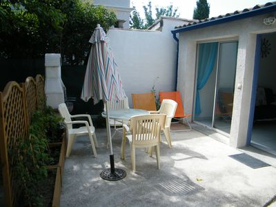 Photo for Maisonette comfortable 5mn Palavas beach, 5mn Montpellier