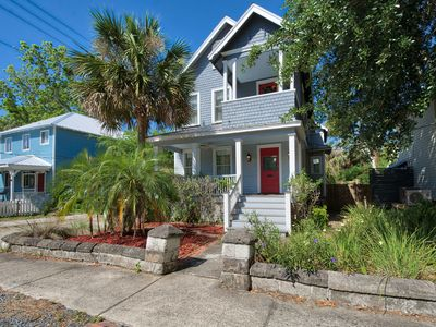 Photo for TurnKey - Restored Victorian 3BR w/ Deck & Balcony - Walk to Downtown