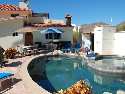 Photo for Pescadero Palace 2BR Guest House w/pool, Jacuzzi, in front of surf!