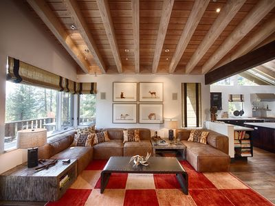 Photo for This contemporary, award-winning home is the ultimate Tahoe retreat.