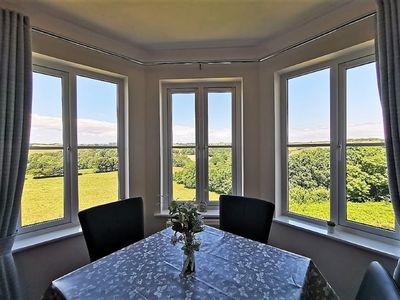 Photo for Valley View: 2 Bed Fowey Apartment with Countryside Views, Garden & Parking