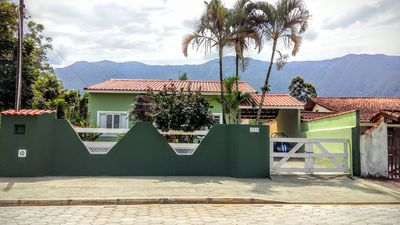 Photo for Single storey house, 3 bedrooms in gated residential with pool, totally secure.