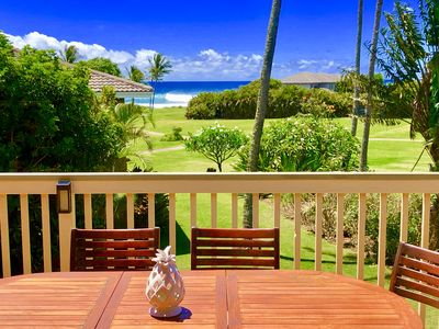Photo for Ocean Views*Steps to Beach*Next to Grand Hyatt*Large Lanai*Greenbelt Trails