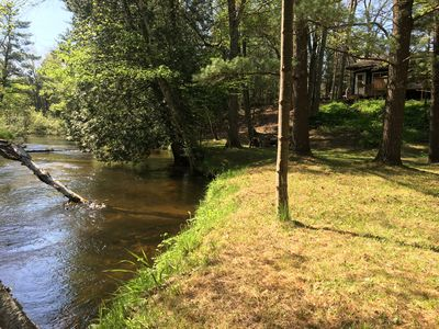200ft of secluded riverfront property