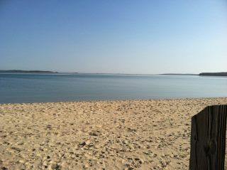 Photo for HEATED POOL Summer Cottage by the Bay walk to village