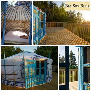 Photo for Big Sky Blue Yurt at Cabot Shores Wilderness Resort