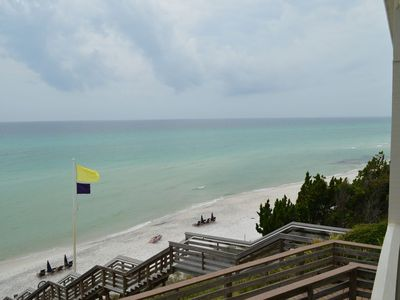 Photo for Gulf Front 1 Bedroom! Beach Views from Balcony!