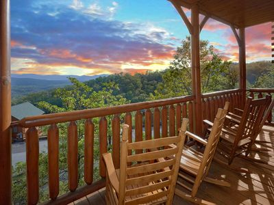 Photo for Incredible Views, Game Room, Theater Room, Loft Sleeping Area