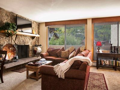 Photo for No Car Necessary, Located on Free In-Town Bus Route, Heart of Vail & Lionshead, Scorpio Condo!