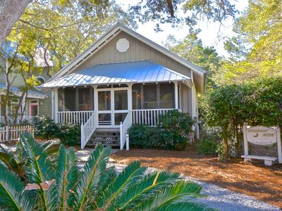 Photo for Goodnight Moon: Newly Renovated Grayton Beach Cottage - 2 Bikes Included!