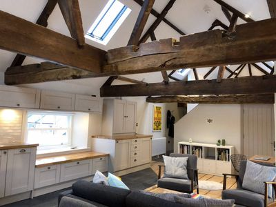Photo for Stylish Wells penthouse with Cathedral views