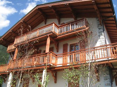 Photo for Apartment in duplex of a chalet located in the area of Les Pècles
