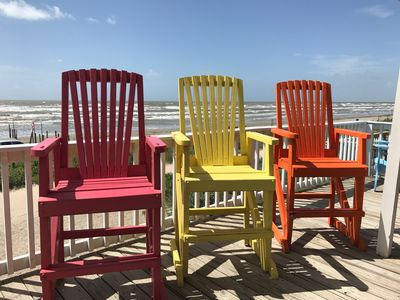 Photo for 10 Guest Special 6/9-11 $300/nt!! OCEANFRONT! Close to town!
