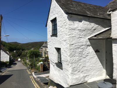 Photo for Beautiful 3 bedroom cottage, Boscastle, North Cornwall