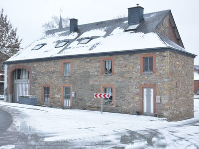 Photo for Large 18th century house in the heart of the typical village of Champlon, garden
