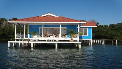 Photo for Family-friendly Unforgettable Vacation at over the water house.