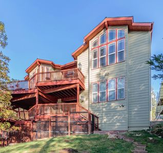 Photo for Spacious Lakefront Marina View Home with Boat Dock