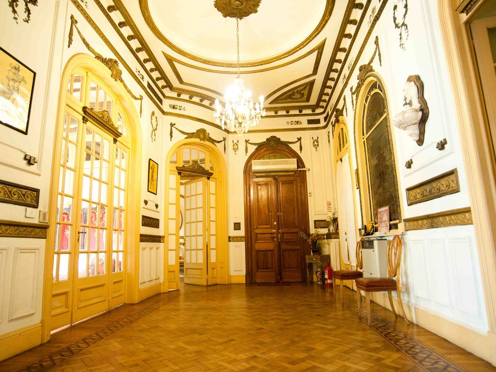 Congreso apartment rental the grand and elegant dance hall perfect for practicing tango or