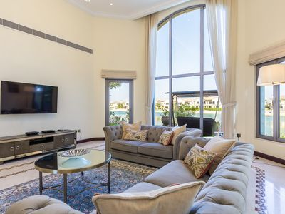 Photo for Palm Jumeirah Luxury Villa with Private Beach