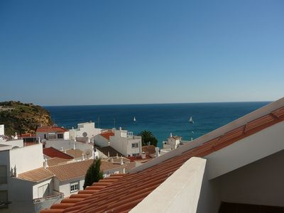 Photo for Spacious Apartment with Sea Views and a Large Private Sunny Terrace with WiFi