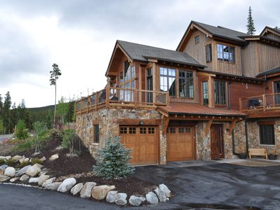 Photo for Luxury Mountain House- Ski Slope Views- HotTub- 7 min drive to the slopes!