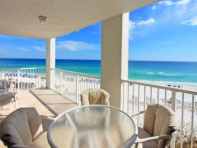 Photo for ☀RARE 3BR Beachfront Shoreline Towers 2056☀OPEN Apr 28 to 30 $912! Pool-FunPass