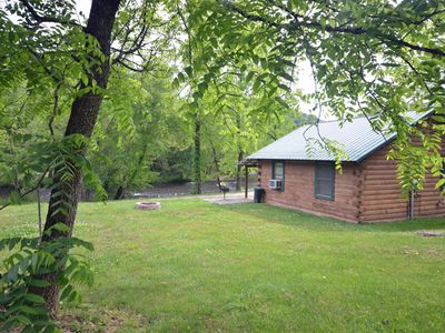 Photo for Bryson City/Cherokee River Cabin - 2 Bedrooms Sleeps 6