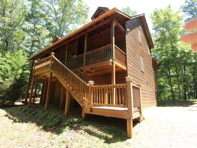 Photo for Located minutes from Ellijay and Blue Ridge: Hot Tub, WiFi, Pool Table, Fireplace, Firepit