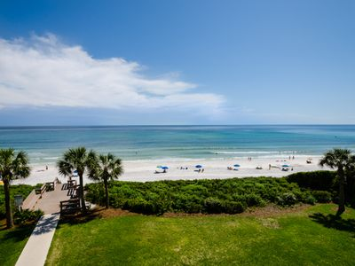 Photo for Directly Gulf-front ~ Beautiful beach! ~ Swimming pool ~ Close to Seaside