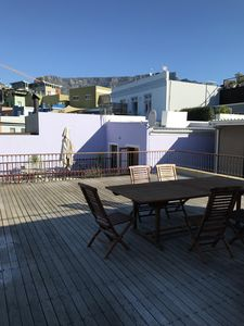 Photo for Beautiful cottage with table view terrace in Cape Town's safest area / DeWaterkant