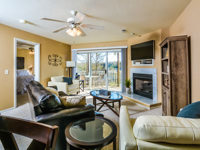 Photo for Must See Ledges Condo Overlooks Pool & Beach, King Master Suite, Wi-Fi, 40' Dock