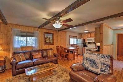 Make memories to last a lifetime at this Cloudcroft vacation rental cabin!