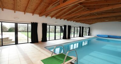 Photo for Stunning country house with heated indoor pool in an area of natural beauty