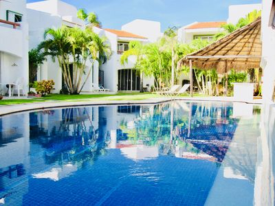 Photo for Stunning private Comfort villa with pool in Playacar