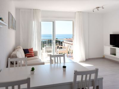 Photo for Apartment Apartamento Sol in Malgrat de Mar - 6 persons, 3 bedrooms