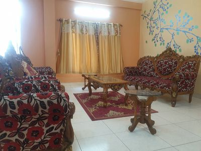Main Hall with 7 Seater Sofa