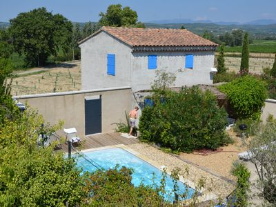 Photo for House near Vaison and Nyons with private pool (all include)