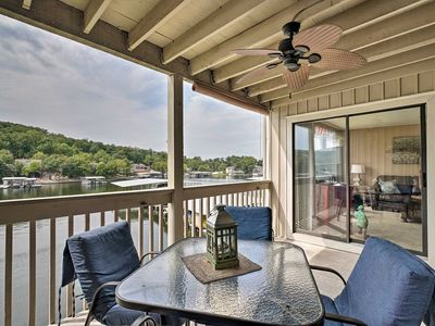 Photo for Osage Beach Waterfront Condo w/ Amenities!