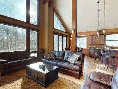 Photo for Beautiful home with mountain/lake views & private hot tub!