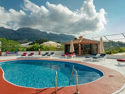Photo for Detached villa private pool, large terrace, luxury outside kitchen sleeping / sitting tower