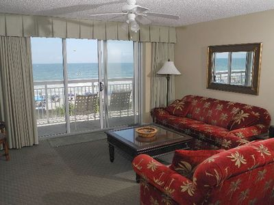 Photo for Crescent Shores Oceanfront Unit 209! Stunning Condo. Book your get away today!