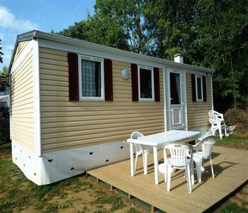Photo for Camping La Joletière *** - Mobile Home 4 Rooms 6 People