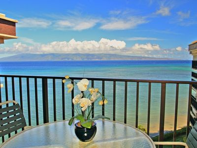Photo for Watch Maui Sunsets from this 8th floor Penthouse 2BD 2BA condo  Views!  Views!
