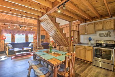 Conversation flows easily through this vacation rental.