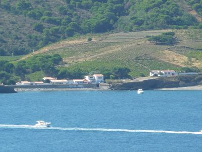 Photo for Loue Bay Paulilles, nice house on one level with terrace facing the sea