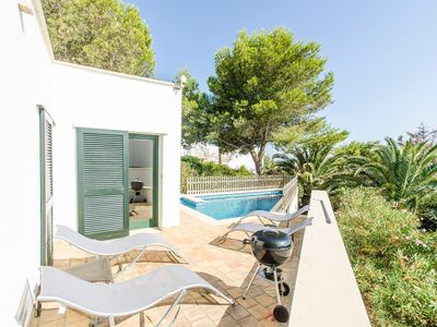 Photo for Fantastic Villa with Sea View, Pool and Air Conditioning