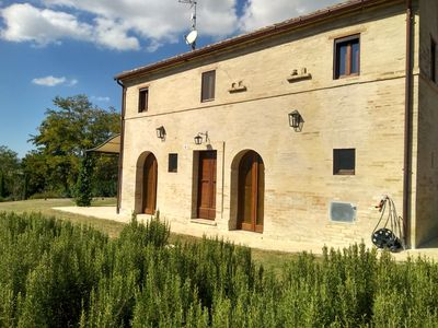 Photo for Villa Casale Leporello, sleeps 7, with pool in stunning location